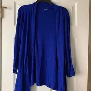 Kim Rogers royal blue cardigan